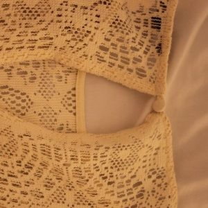 American Eagle Outfitters Swim - AMERICAN EAGLE lace cover-up